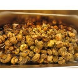 Gegrillte Pilze in...