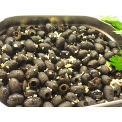 Oliven schwarz ohne Salz...